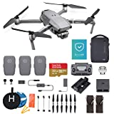 DJI Mavic 2 Pro (Hasselblad Camera) Fly More Combo with DJI Care Refresh, 3 Batteries, Charging Hub, and Extreme microSDXC Card