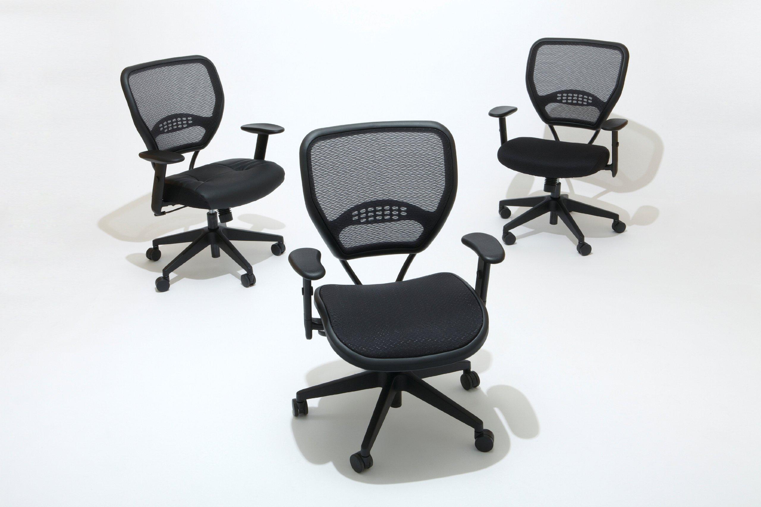 office star 5500 space air grid mid back swivel chair black 20 1