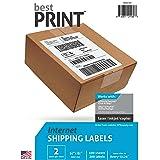 Address Labels - Best Print Brand - 1000 Half Sheet - Best Print Shipping Labels - 5-1/2