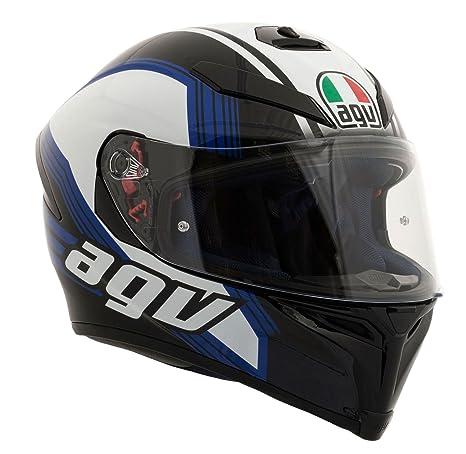 Casque de moto AGV K5 Sv Drift noir bleu blanc
