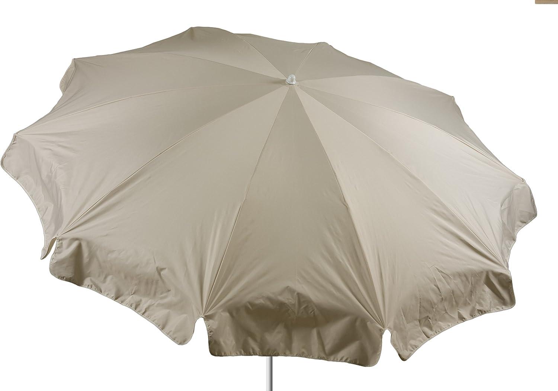 beo Sonnenschirme wasserabweisender, rund, Durchmesser 240 cm, beige günstig