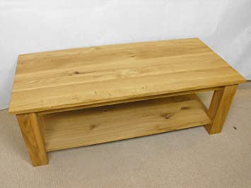 Small Coffee table with shelf, 1000x400mm, ideal for the living room or conservatory