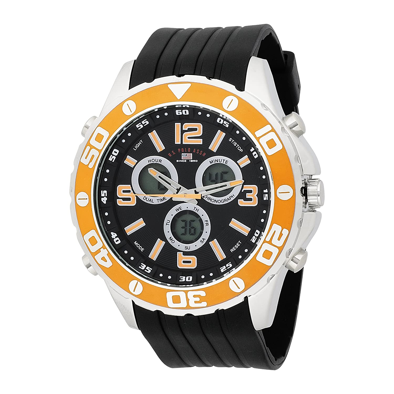s watches u s polo assn s us9072 analog