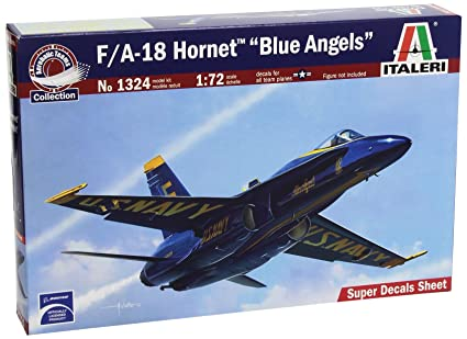 Italeri - I1324 - Maquette - Aviation - F/a-18 Blue Angels