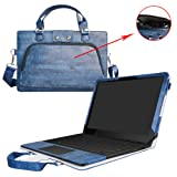 Razer Blade Stealth Case,2 in 1 Accurately Designed Protective PU Leather Cover + Portable Carrying Bag for Razer Blade Stealth 12.5 & 13.3 inch Series Gaming Laptop,Blue (Color: Blue, Tamaño: Razer Blade Stealth)