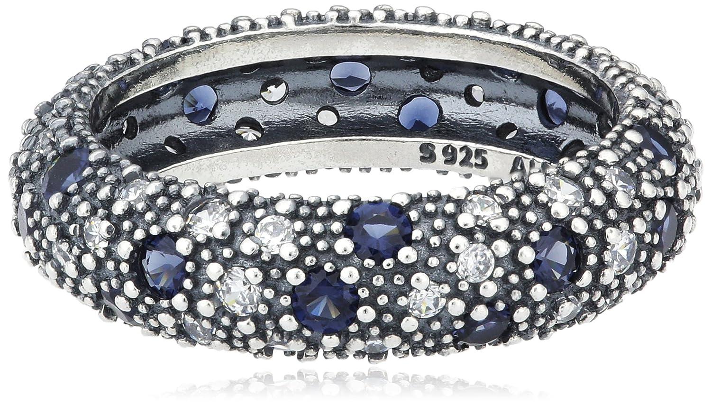 Pandora Damen-Ring 925 Silber Zirkonia blau 190915NBC günstig online kaufen