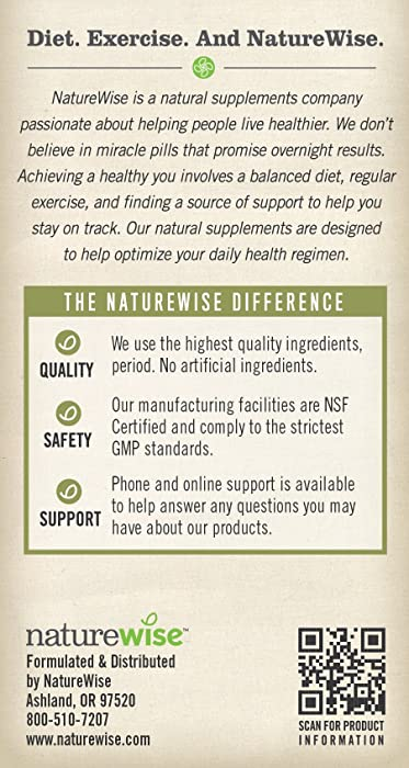 Naturewise Cla 1250 Healthy Weight Management Supplement Review