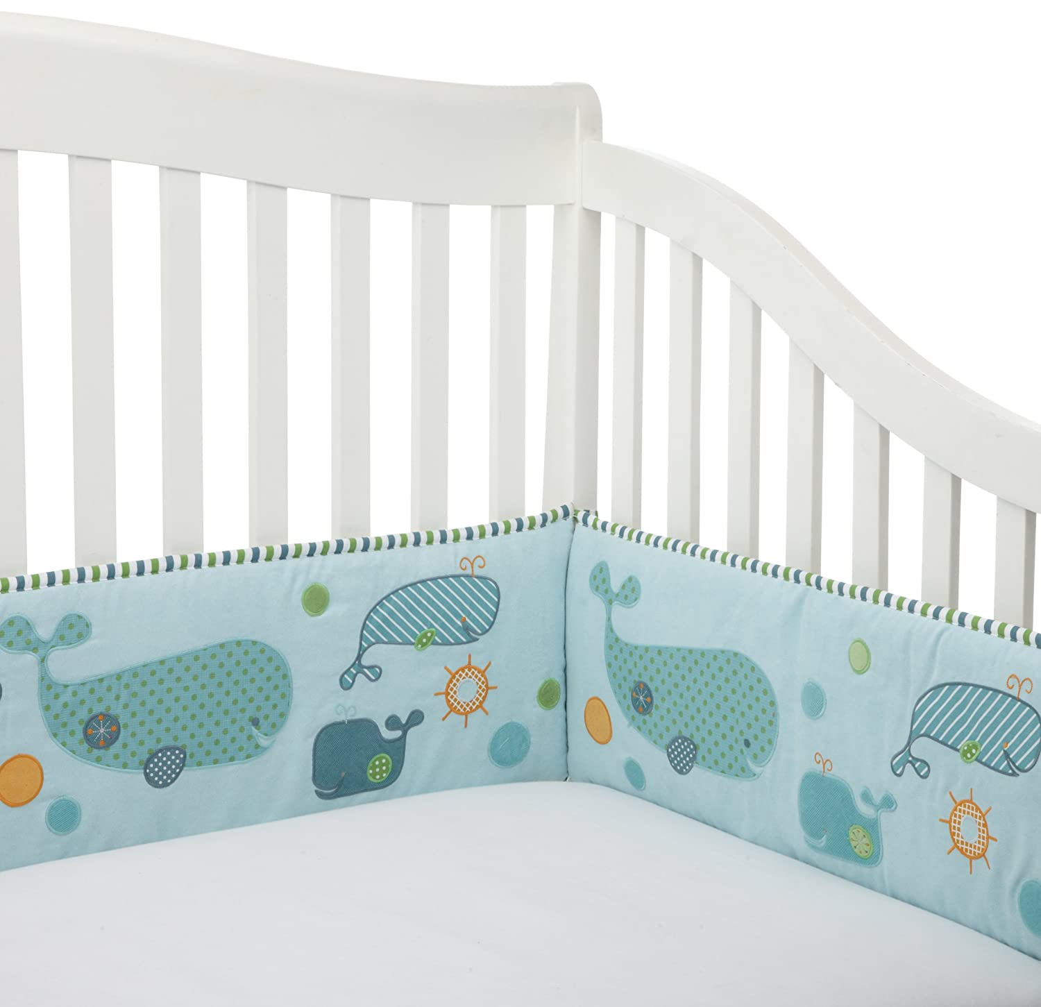 Migi Little Whale Crib Bedding By Bananafish Baby