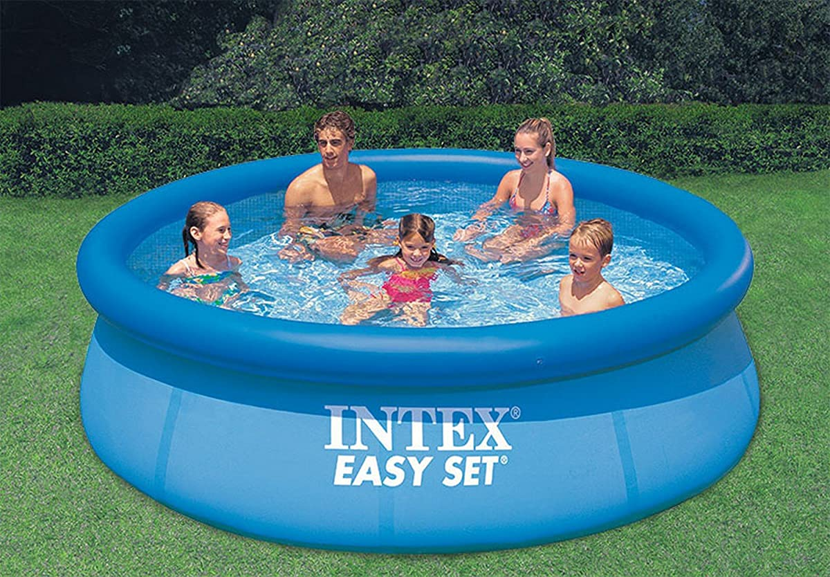 "Intex 10 x 30"" Easy Set Above Ground Inflatable Swimming Pool 