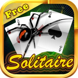 Spider Solitaire Free for Kindle - Solitare Blitz Classic Game Pack Plus HD Blast App by Satyadev Ashok Mahalingashetty
