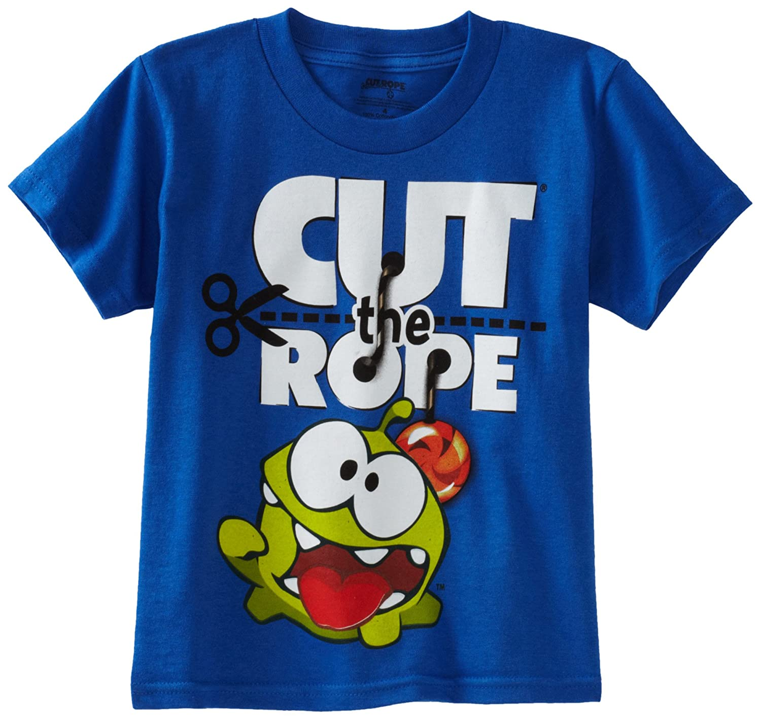 Cut the Rope Big Boys' Om Nom Tee ледянка 92см cut the rope 1toy