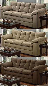 Simmons Upholstery Luna Sofa 6565- Chocolate