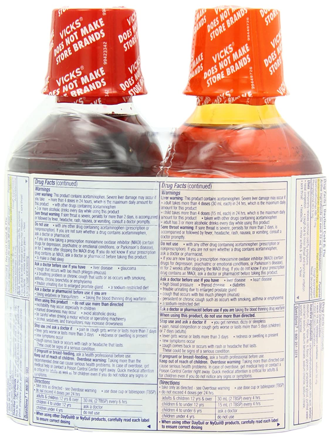 Relief And Dayquil Col...