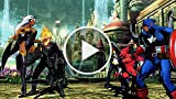 Ultimate Marvel vs Capcom 3 - Ghost Rider Gameplay...