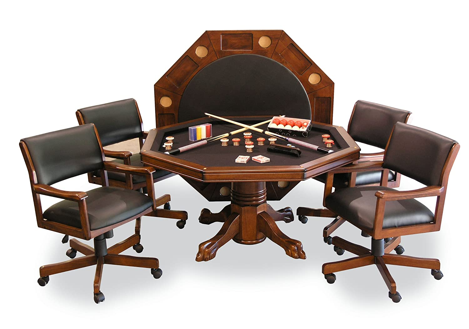 Best Rated Poker Dining Table Set - cover