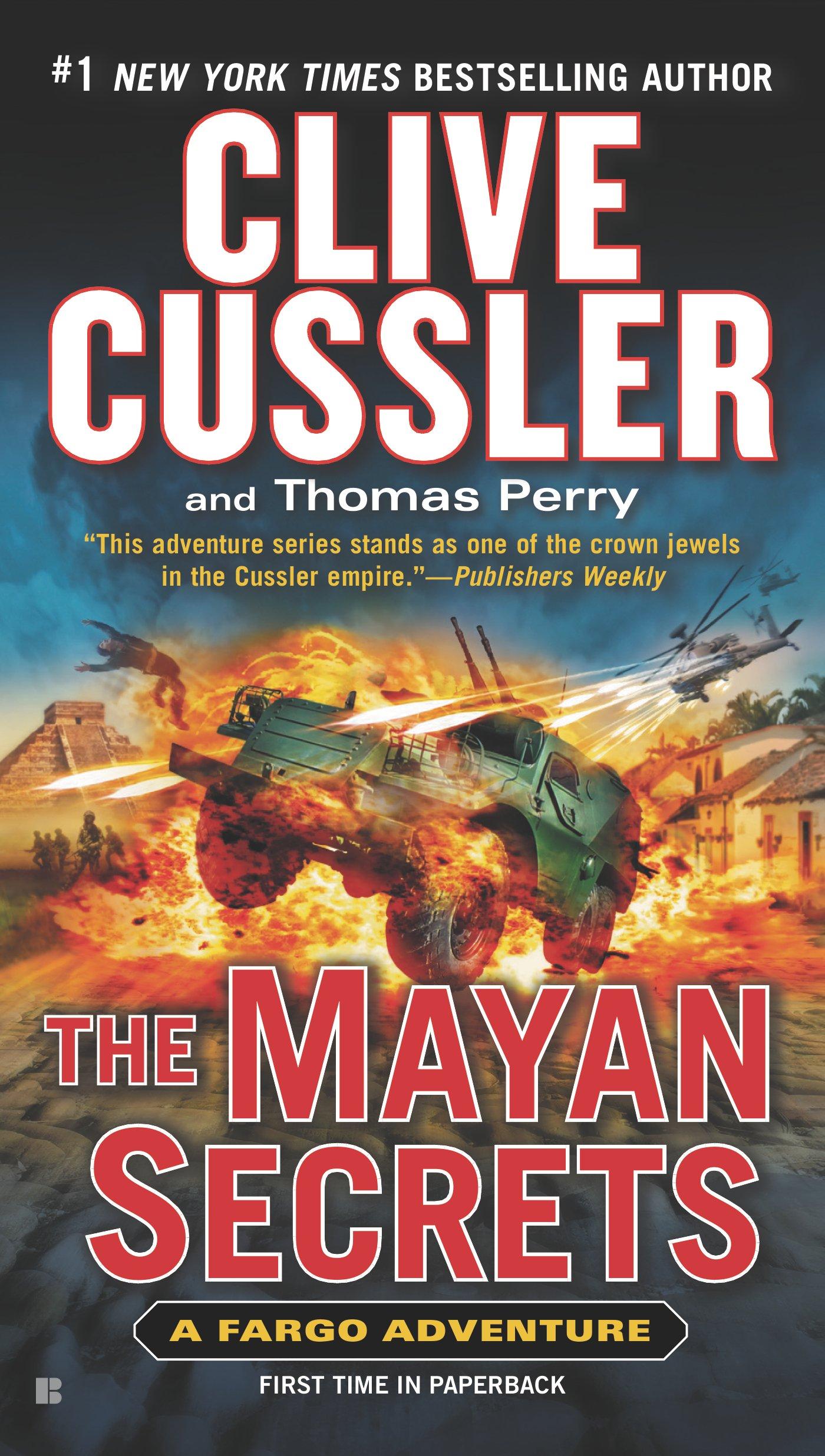 The Mayan Secrets (A Fargo Adventure)  - Clive Cussler,Thomas Perry
