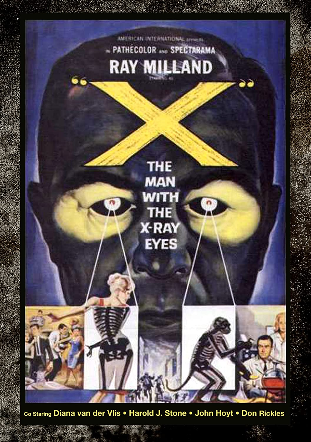 X The Man With The X Ray Eyes Poster