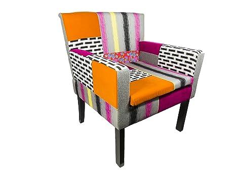 Riss Orleans–Sofa, Mehrfarbig