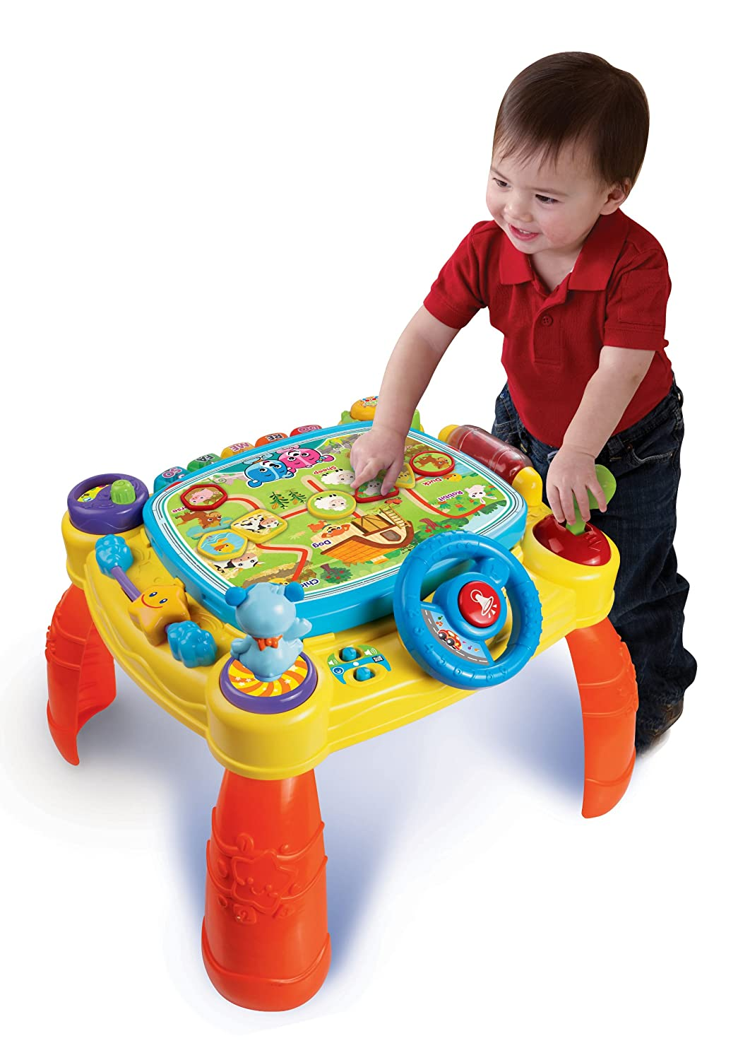 VTech iDiscover App Activity Table Toy Review