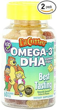 L'il Critters Omega-3健脑鱼油小熊软糖$8.20美元