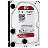 WD Red 2 TB NAS Hard Drive: 3.5 Inch, SATA III, 64 MB Cache - WD20EFRX
