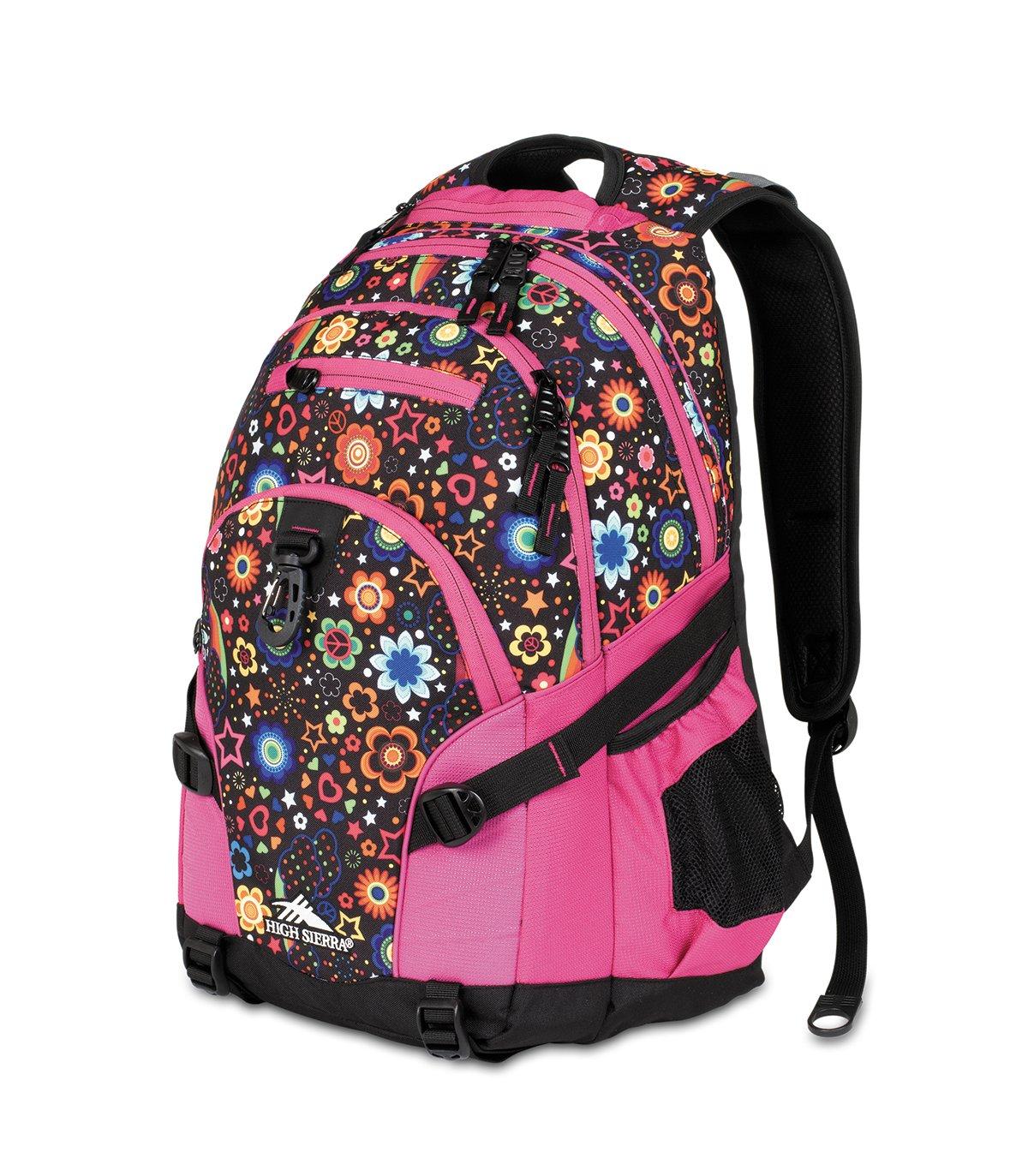 tas sekolah gendong pink high sierra loop