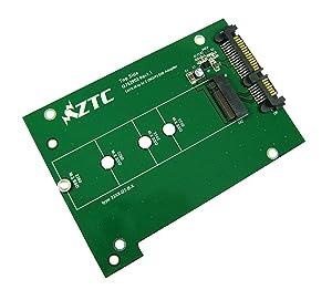 ZTC trueno Junta SSD M.2 (NGFF) al tablero de adaptador SATA III  Electrónica revisión y más información