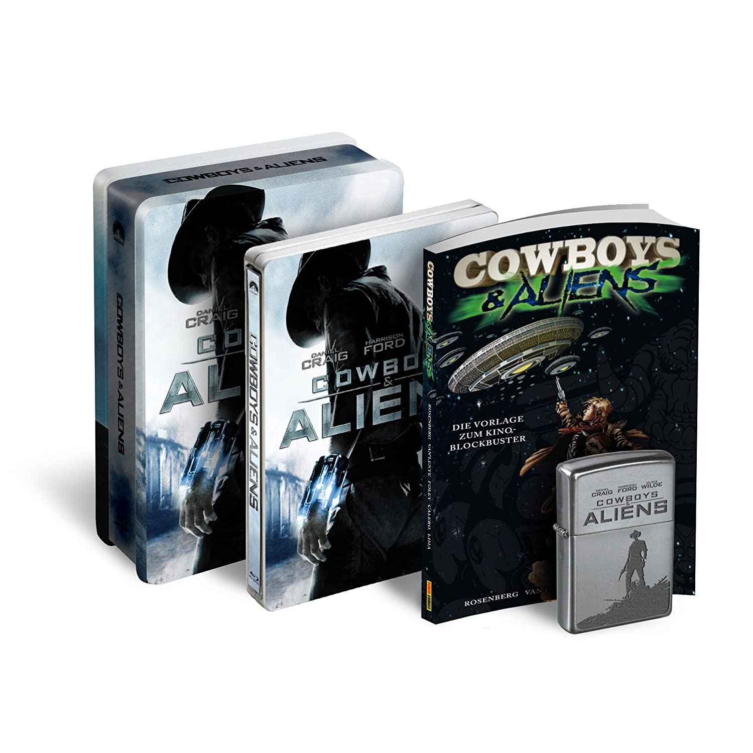 Cowboys & Aliens Tin Box - Blu-ray Forum