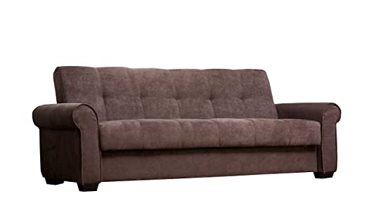 Abbyson Living Henley Fabric Sofa, Brown