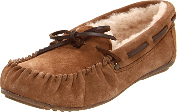 海淘豆豆鞋:EMU 女士真皮豆豆鞋