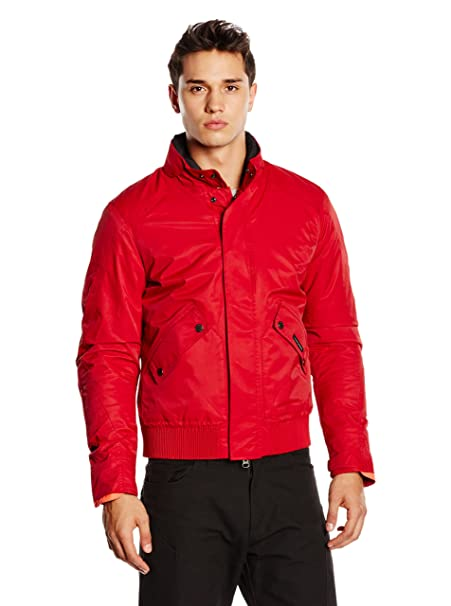Tucano urbano 8938MF038RS3 cARTER-respirant, coupe-vent et étanche à veste rouge foncé-taille s