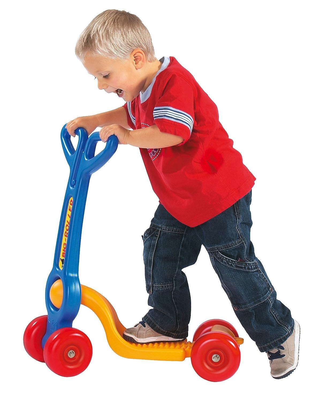 Big Roller (art. 800004150), il monopattino in plastica a 4 ruote per bambini