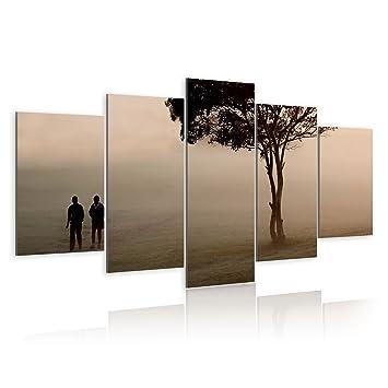 impression sur toile toile 200x100 cm grand format 5 parties image sur toile. Black Bedroom Furniture Sets. Home Design Ideas
