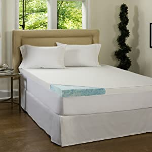 Beautyrest 3-inch Gel Memory Foam Mattress Topper