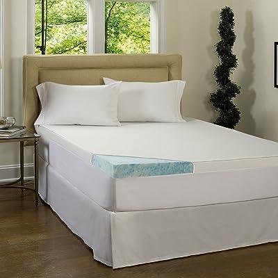 Beautyrest 3-inch Gel Memory Foam Mattress Topper