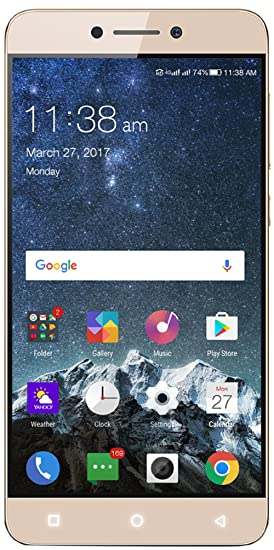 Coolpad Cool 1 (Gold, 3GB RAM + 32GB memory) By Amazon @ Rs.10,999