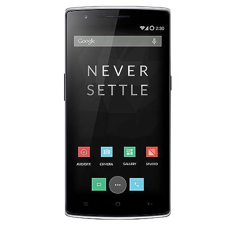 OnePlus One Smartphone débloqué (Ecran: 5.5 pouces) Noir (import Italie)