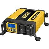 DEWALT DXAEPI1000 Power Inverter: 1000 Watt Continuous / 2000 Watt Peak Power