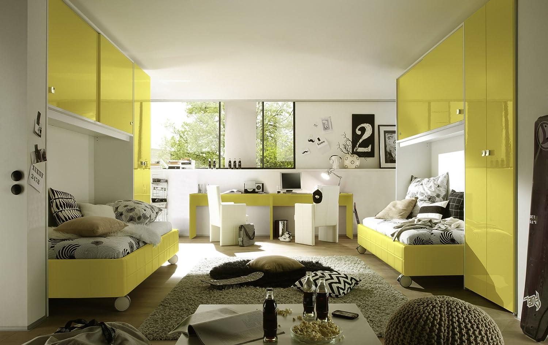 Jugendzimmer gelb/ weiss online bestellen