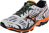Mizuno Men's Wave Elixir 7 Running Shoe,White/Anthracite,12.5 D US