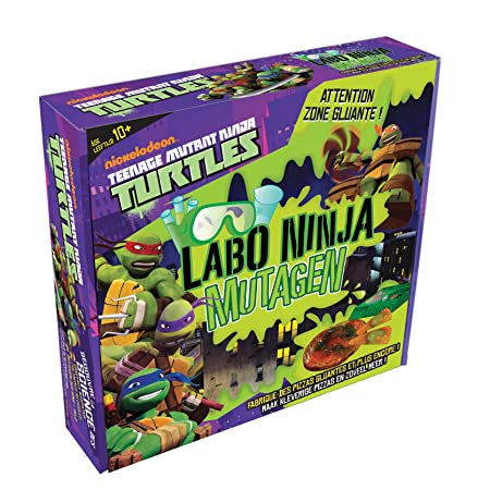 BSM Sciences - Ws/43T - Jeu Scientifique - Labo Ninja Mutagen