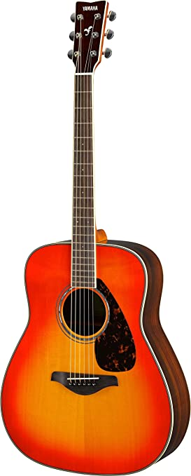 Yamaha FG830 Acoustic Guitar   Autumn Burst available at Amazon for Rs.45990