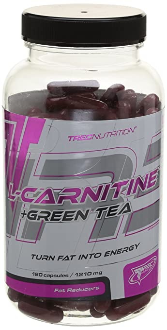 Trec Nutrition L-Carnitin + Green Tea 180 Kapseln