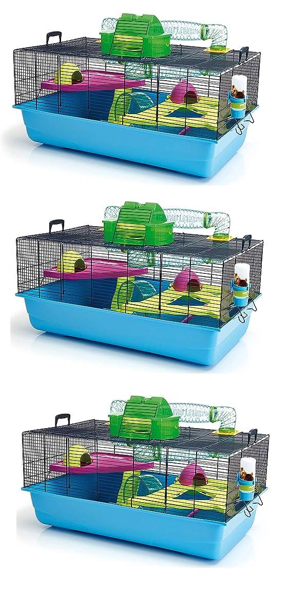 Lixit Animal Care Savic Hamster Heaven Metro Cage (3-Pack) (Tamaño: 3-Pack)