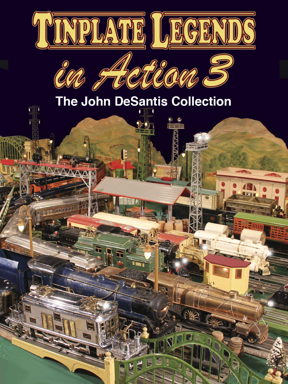 Tinplate Legends in Action 3: The John DeSantis Collection on Amazon Prime Video UK