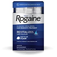 Men Rogaine Hair Loss Hair Thinning Treatment Minoxidil Foam