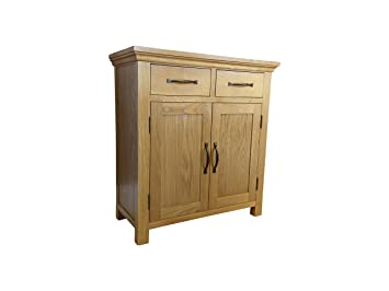 Toronto Modern Light Oak Small 2 Door 2 Drawer Sideboard
