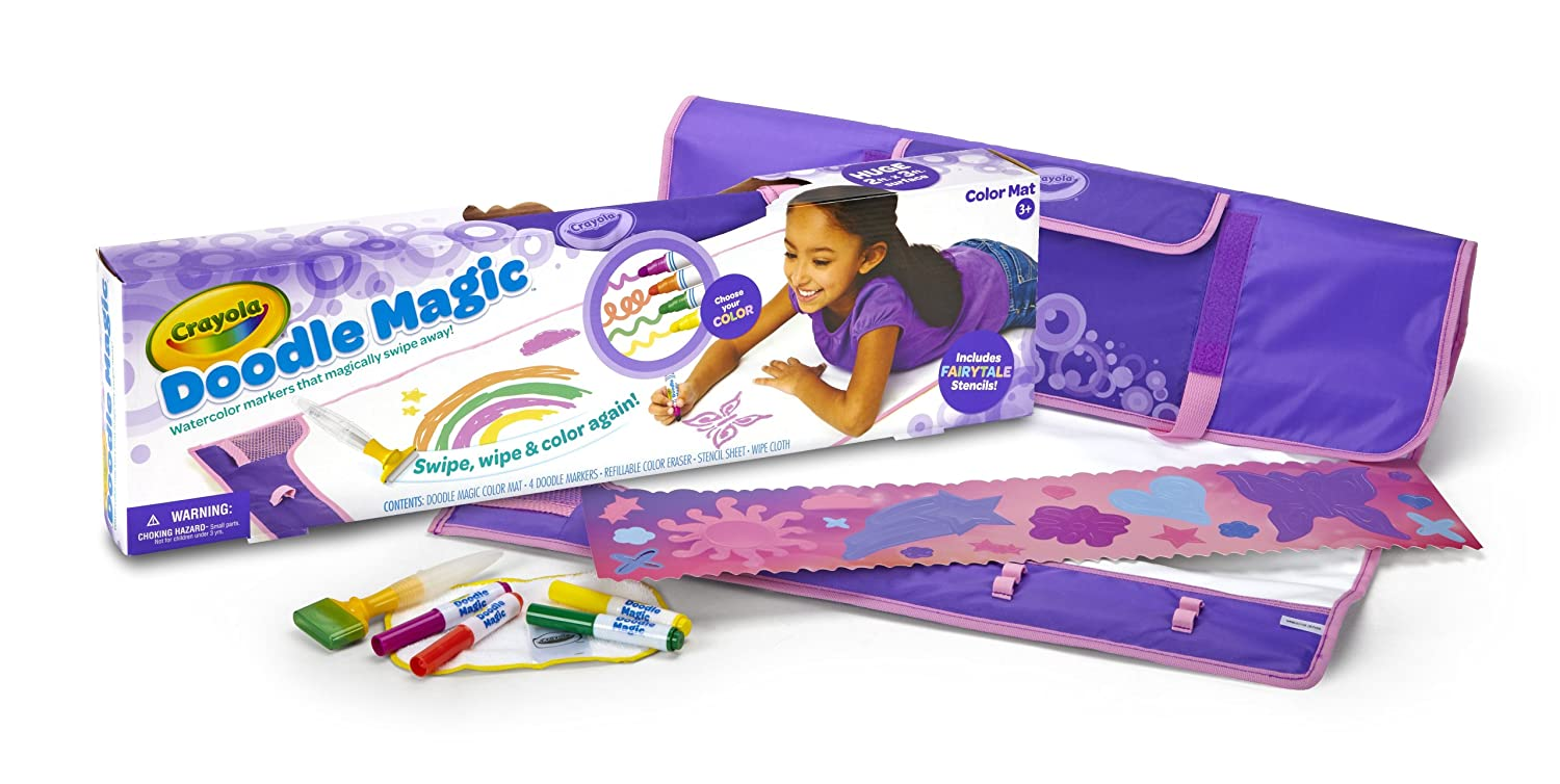 Amazon - Crayola Mat-Fairytale Doodle Magic Color Marker - $7.78