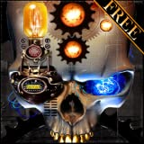 Steampunk Skull Free Live Wallpaper