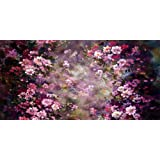 Kate Abstract Photography Backdrops Painting Pink Flowers Photo Background for Family Backdrop (20x10ft) (Color: 7148, Tamaño: 20x10ft)